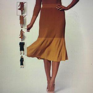 7th Avenue - Pull-On Pleated Skirt
